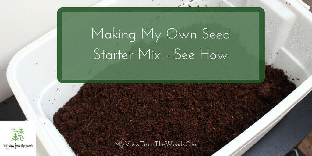 how to make seed starter mix
