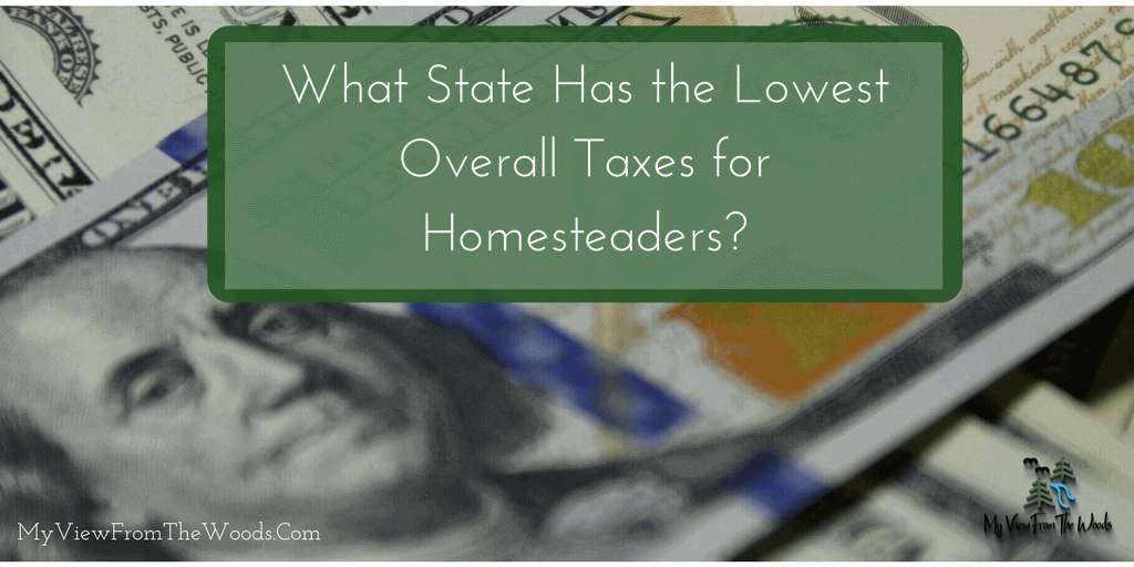 state with lowest overall taxes