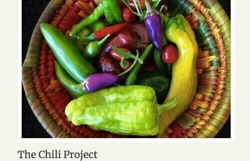 chili pepper homeschool project