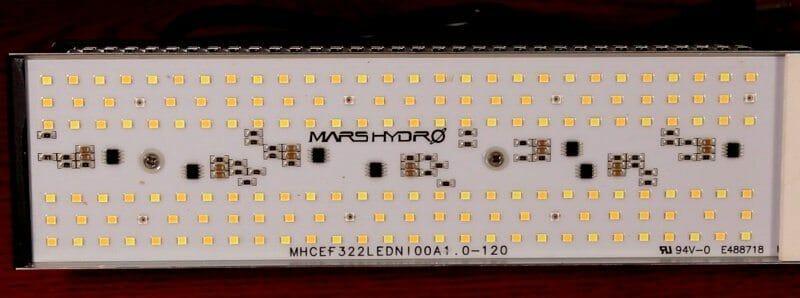 LED emitters on Mars Hydro SP 150